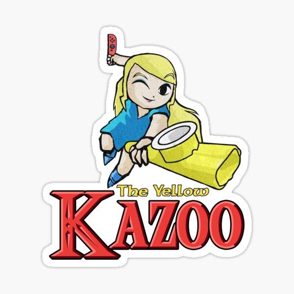 The Legend of Kazelda (with text) Sticker