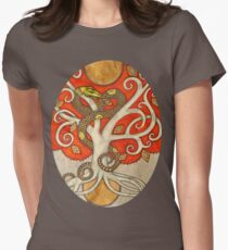 Serpent Tree Tee Womens Fitted T-Shirt
