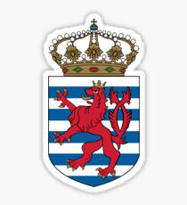 Lesser Coat of Arms of Luxembourg  Sticker
