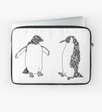 Doodle Penguins (Sticker Pack) Laptop Sleeve