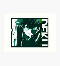 My Hero Academia - Deku Art Print