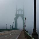 St. John foggy bridge by DevinVShop