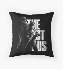 The Last Of Us - Ellie and Joel Design Throw Pillow