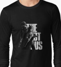 The Last Of Us - Ellie and Joel Design Long Sleeve T-Shirt