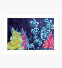 Floral Hellscape I Art Print
