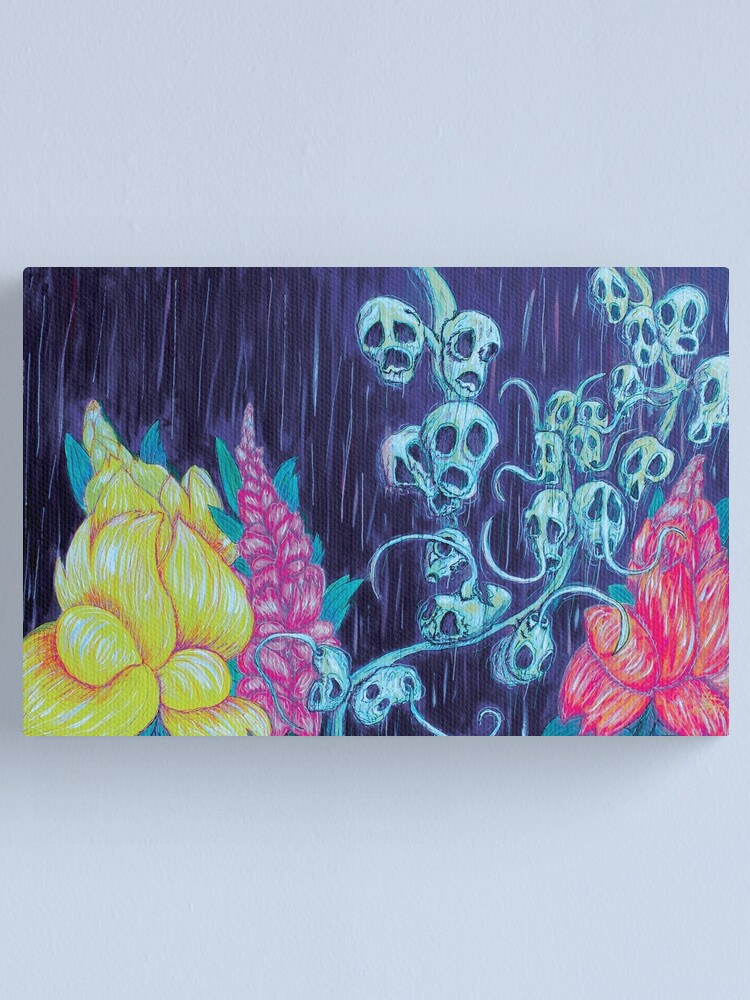 Alternate view of Floral Hellscape I Canvas Print