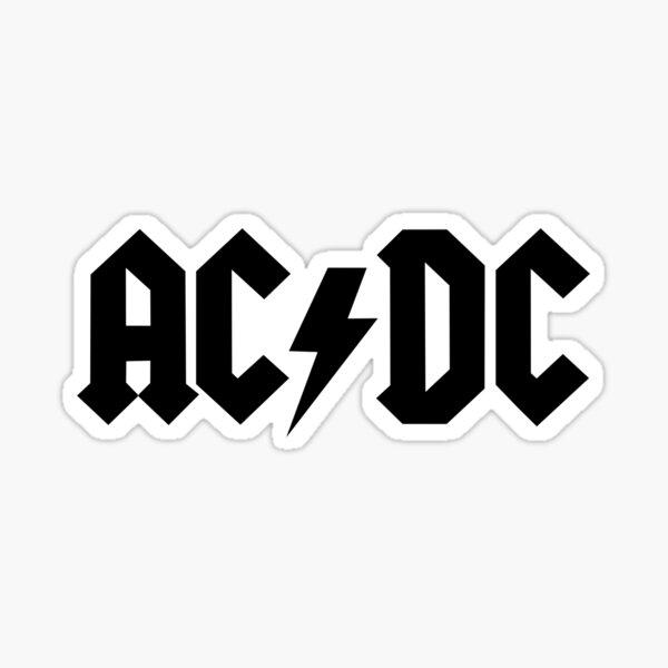 AC/DC stuff Sticker