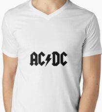 AC / DC-Sachen T-Shirt mit V-Ausschnitt für Männer
