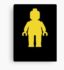 Minifig [Yellow]  Canvas Print