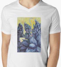 Floral Hellscape III V-Neck T-Shirt
