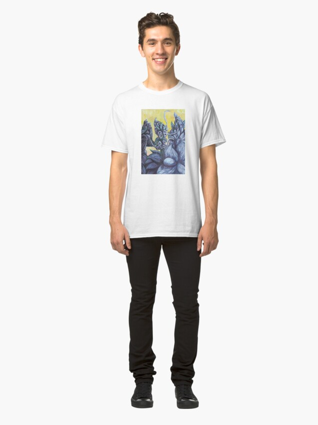 Alternate view of Floral Hellscape III Classic T-Shirt