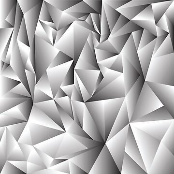 abstract crystal background by valeo5