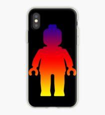 Minifig [Large Rainbow 2]  iPhone Case