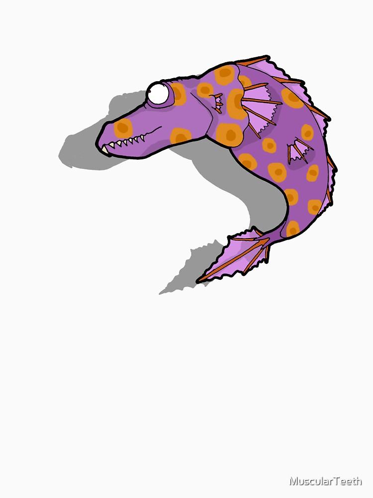 Colourful Sea Dragon by MuscularTeeth