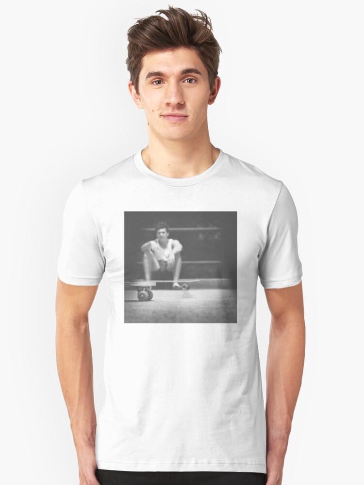 skate Unisex T-Shirt Front