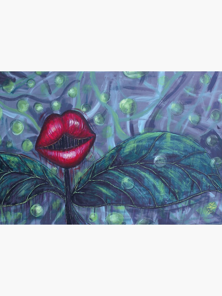 Floral Hellscape IV by GroglioArt