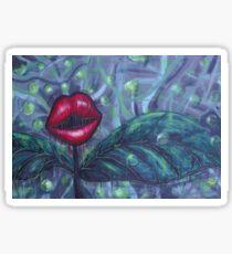 Floral Hellscape IV Sticker