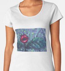 Blumenlandschaft Hellscape IV Frauen Premium T-Shirts