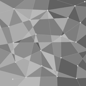 Abstract random geometric pattern grey by Russell102