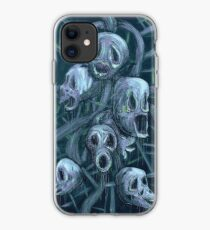 Floral Hellscape II iPhone Case