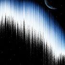 Spectrum And Moon by Looly Elzayat
