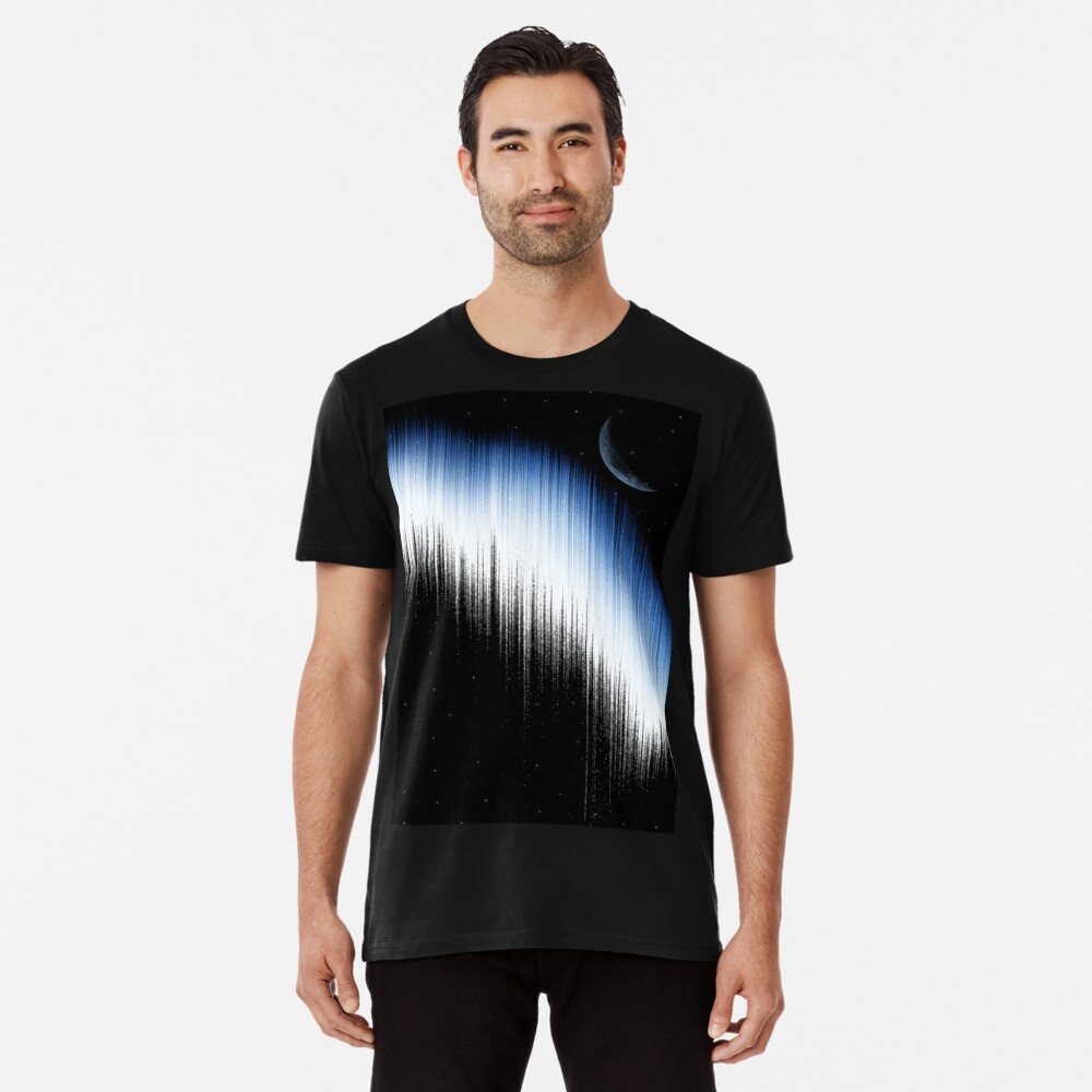 Spectrum And Moon Premium T-Shirt