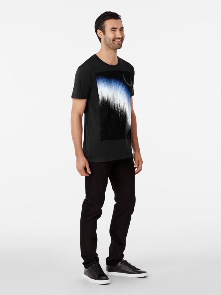 Alternate view of Spectrum And Moon Premium T-Shirt