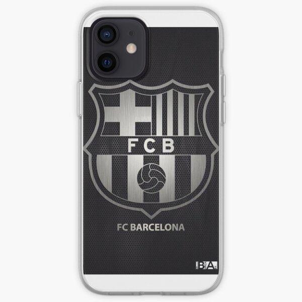 Proteccion fc barcelona Funda blanda para iPhone