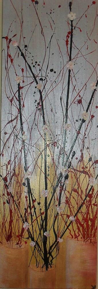 oriental blossom gold by Jenny Leake