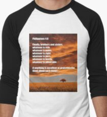 Think about such things Men's Baseball ¾ T-Shirt
