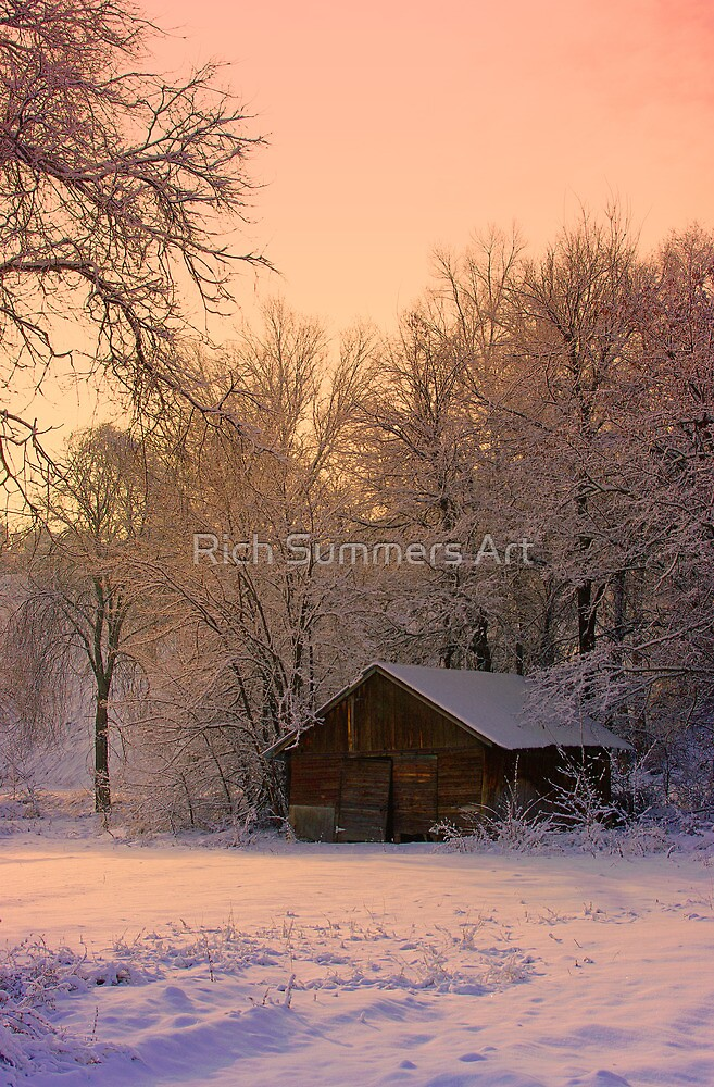 Winter's Shack by Rich Summers