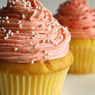 Pink cupcakes by Framed-Photos