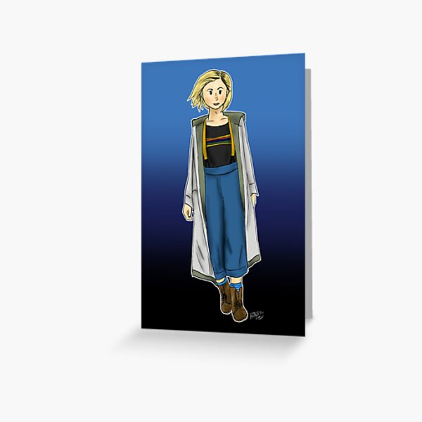 13th Doctor Greeting Card