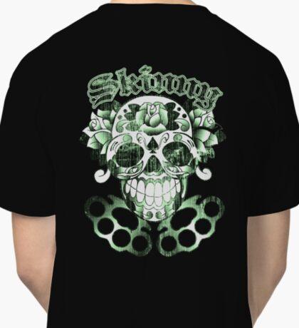 Wisconsin Skinny Sugar Skull Classic T-Shirt