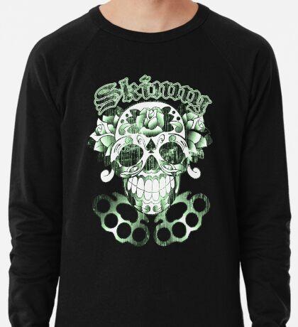 Wisconsin Skinny Sugar Skull Lightweight Sweatshirt
