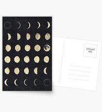 Mondphasen Postkarten