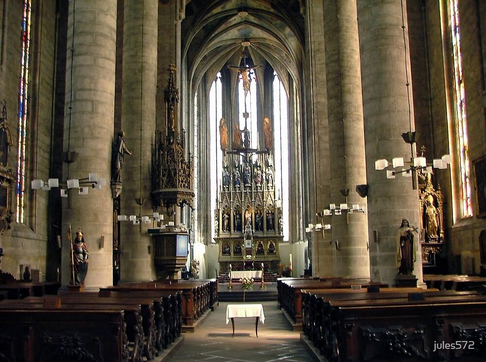 Cathedral of Saint Bartholomew - Pilsen, Czech Republic by jules572