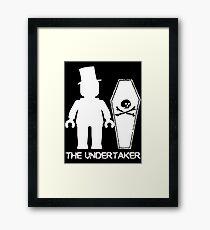 """""""THE UNDERTAKER""""  Framed Print"""