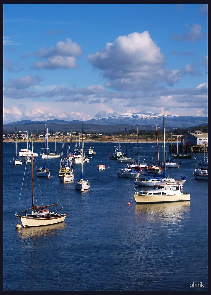 Quiet Port in Monterey Bay, California by olmik