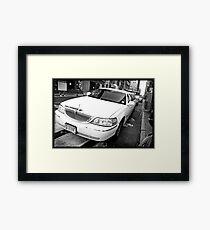 Uptown Limousine Framed Print