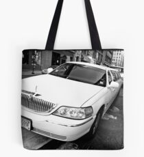 Uptown Limousine Tote Bag