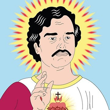 Pablo Escobar the holy, Narcos by cemolamli