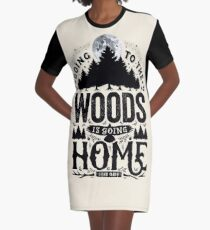 The Woods Graphic T-Shirt Dress