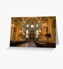 Salzburg Cathedral - Austria Greeting Card