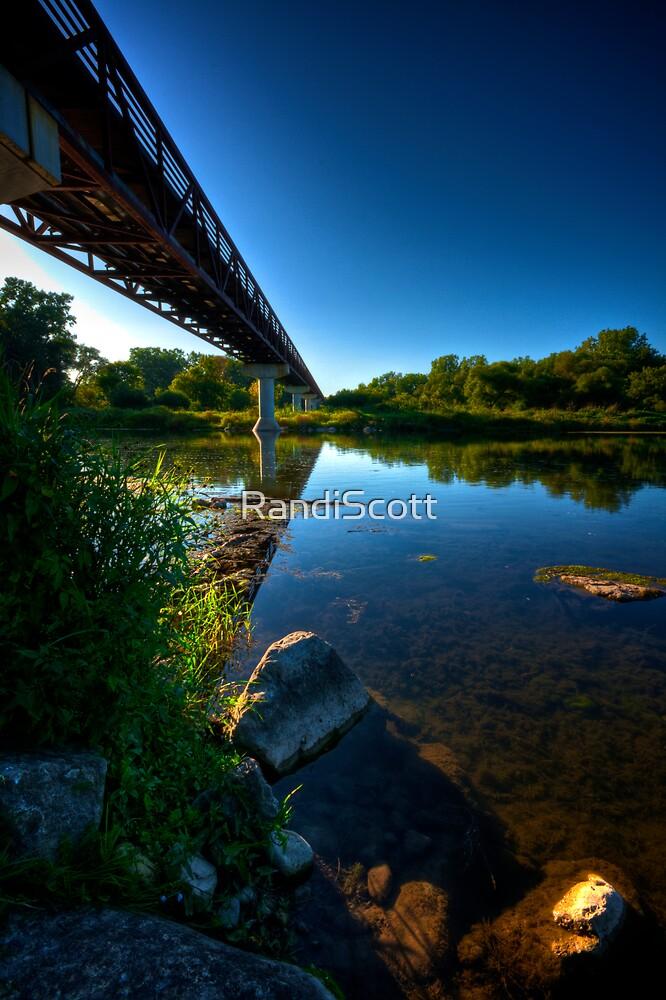River Crossing by RandiScott