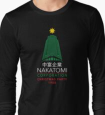 Nakatomi Corporation Christmas Party Tower Long Sleeve T-Shirt