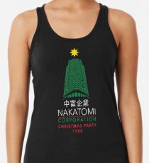 Nakatomi Corporation Christmas Party Tower Women's Tank Top