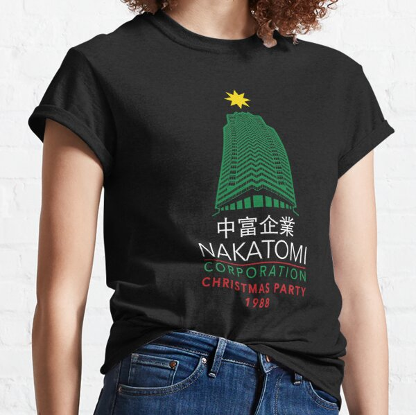 Nakatomi Corporation Christmas Party Tower Classic T-Shirt