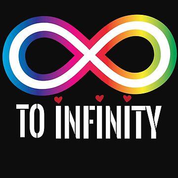 Infinite love heart partnership to Infinity by tarek25