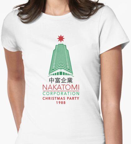 Nakatomi Corporation Weihnachtsfeier Turm Variante T-Shirt